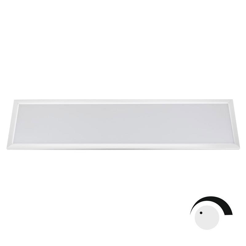 Panel LED 40W Samsung SMD5630, 30x120cm, TRIAC regulable, Blanco cálido, Regulable